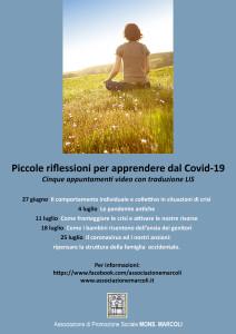 PIccole Riflessioni_Locandina